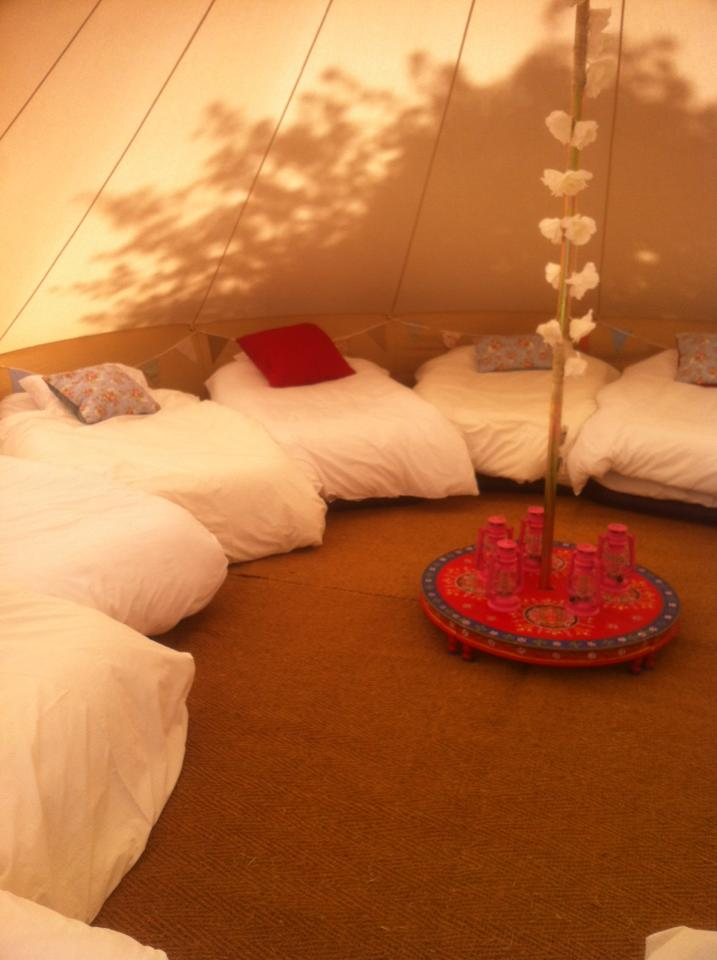 bell tents northampton