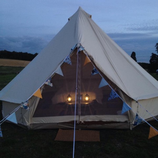 Bell Tent, Glamping