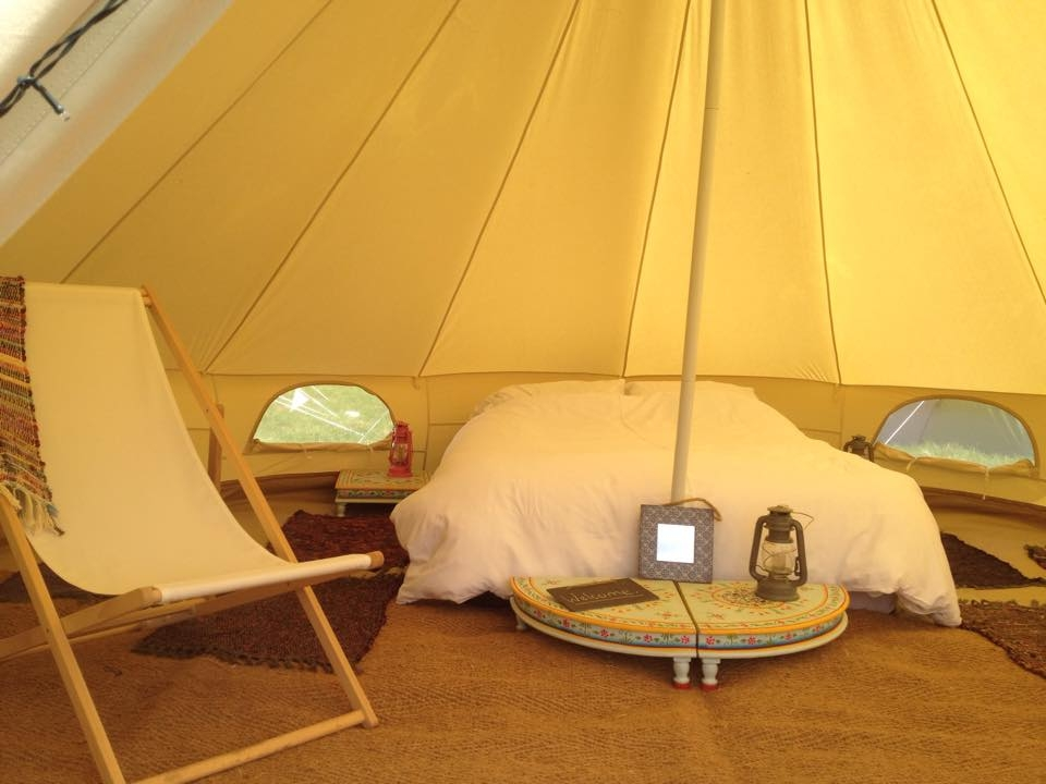 Brook Bell Tents, Glamping