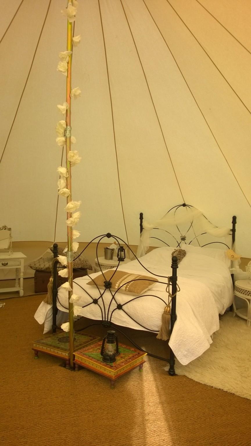 Luxury interior, wedding tent