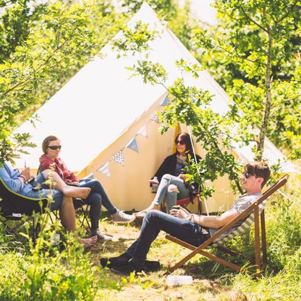Glamping with Brook Bell Tents