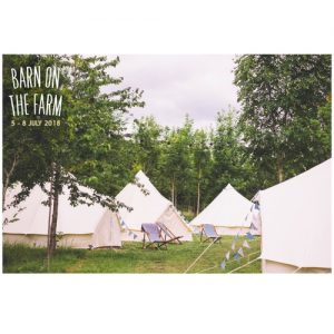 Glamping at Barn on the Farm