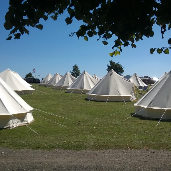 Bell Tents at Retro Festival