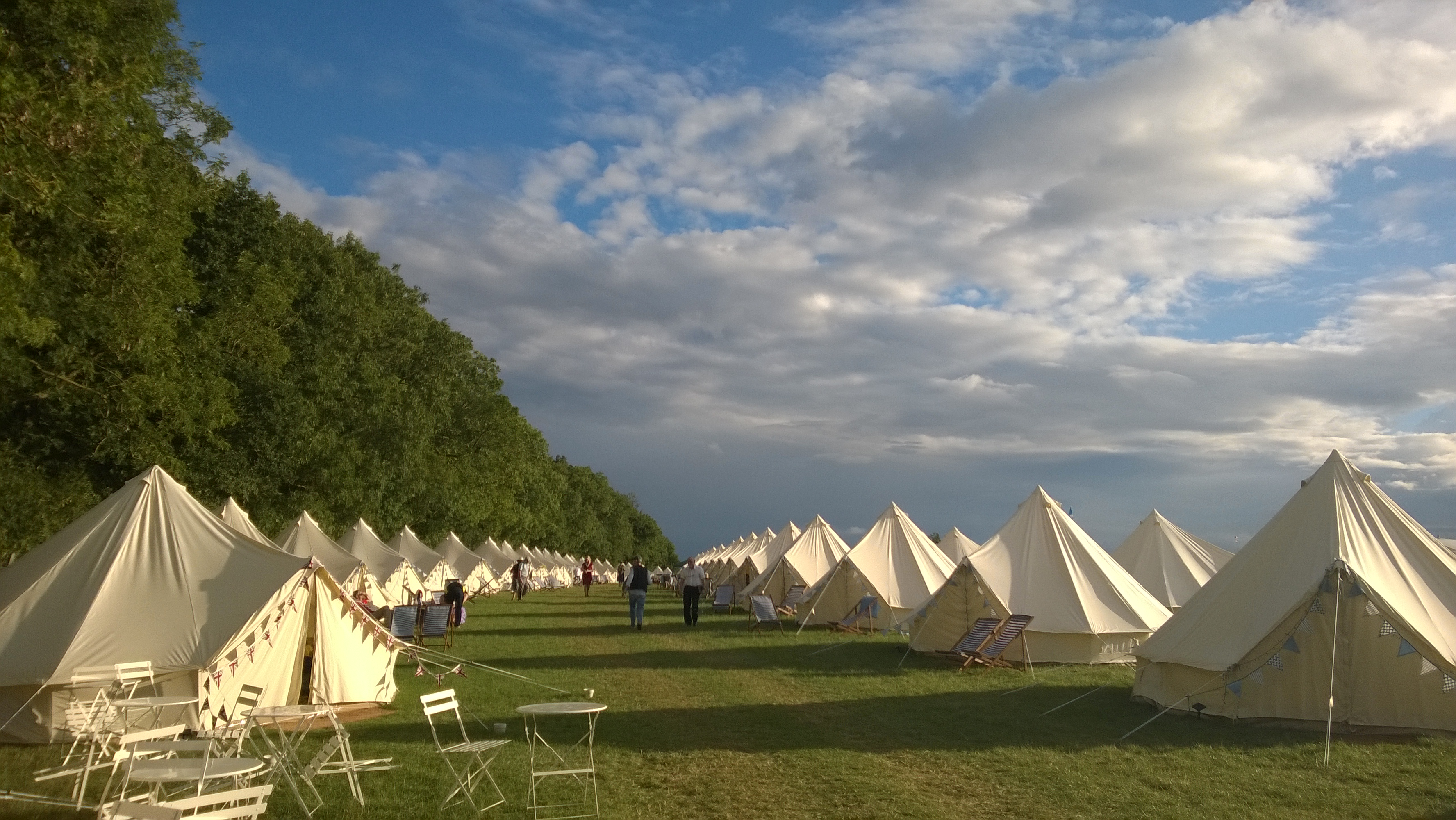Glamping Village at RIAT