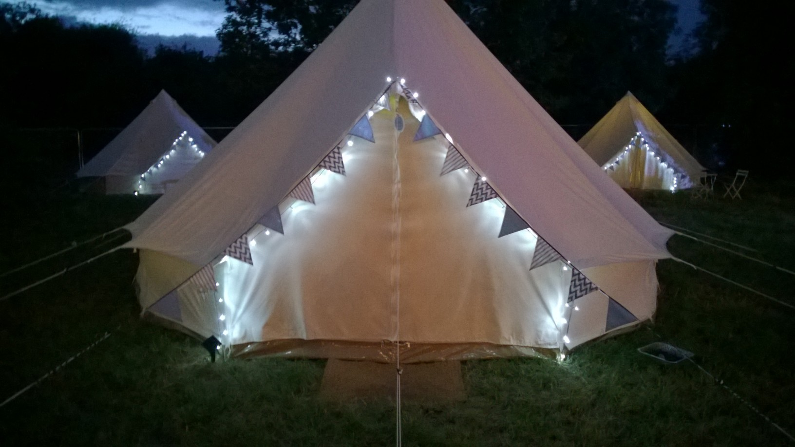 Bell Tent Hire with Brook Bell Tents