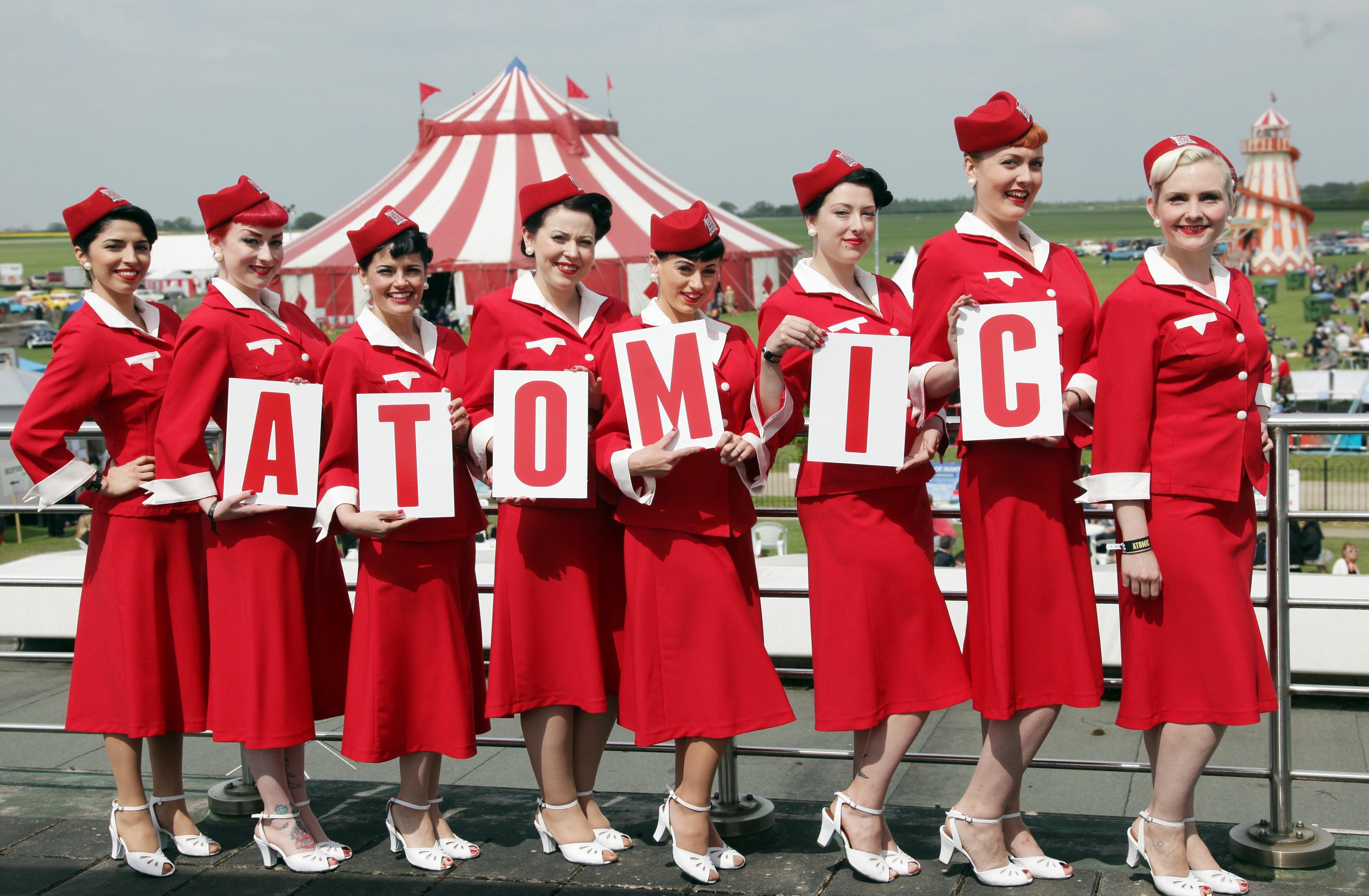 Glamping at Atomic